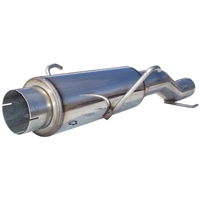 MBRP 2004.5-2005 Dodge/Chrysler Cummins 600/610 (fits to stock only) High-Flow Muffler Assembly, T409  -- MK96116