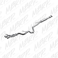 "MBRP 2013-2015 Hyundai Veloster Turbo 2.5"" Cat Back, Dual Exit, Aluminized with Tips  -- S4701AL"