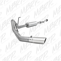 "MBRP 2011-2014 Ford F150 3"" Cat Back, Single Side Exit, Aluminized  -- S5230AL"