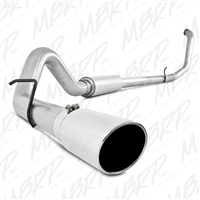 "MBRP 1999-2003 Ford F-250/350 7.3L 4"" Turbo Back, Single Side Exit, Aluminized  -- S6200AL"