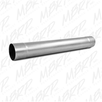 "MBRP Universal Diesel Muffler Delete Pipe  4"" Inlet /Outlet  30"" Overall, Aluminized  -- MDA30"